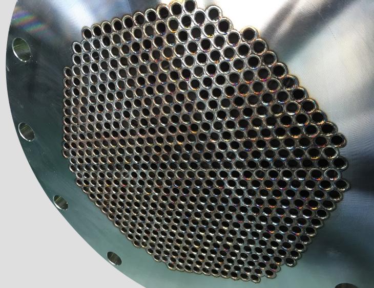 多管式熱交換器(シェル&チューブ式熱交換器)