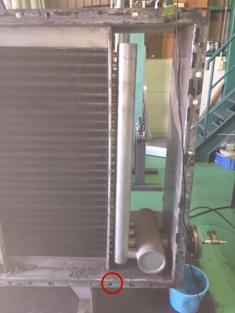 工場での修理事例